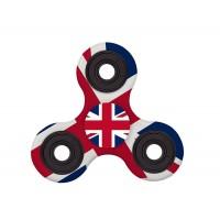 اسپینر فلزی پرچمی طرح بریتانیا