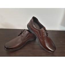 کفش  چرم مردانه قهوه ای ecco