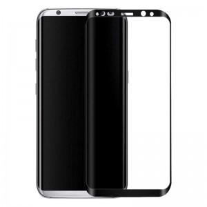 محافظ صفحه نمایش شیشه ایGalaxy S8 Full Cover