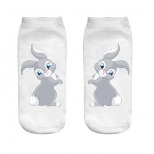 جوراب زنانه طرح خرگوش