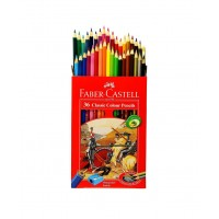 مداد رنگی 36 رنگ فابرکاستل