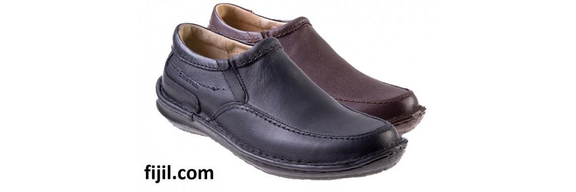 کفش چرمی طبی مردانه تن یار مدل 5249
